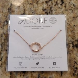 NWT Adorable Rose Gold Plated Bracelet